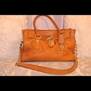 Michael Kors soft leather Hamilton bag